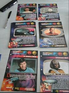 star Trek Collectable Cards