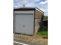 "Garage for rent in Hamilton St, Plasmarl. Dry and Secure. Roller shutter door 7'(H) nx 6'10""(w)"