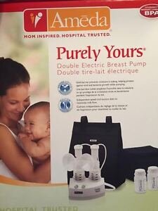 **NEW** Ameda Purely Yours Double Electric Breast Pump