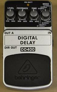 Pédale Digital delay Behringer dd400