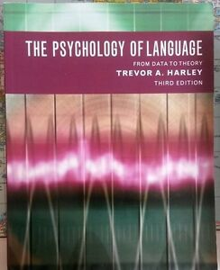 The Psychology of Language: From Data to Theory Textbook