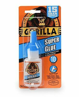 Gorilla Super Glue Impact Tough Repair For Plastic Wood Metal Ceramic Paper 15g