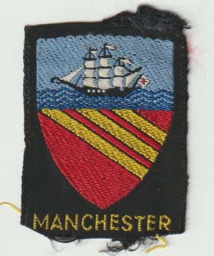UK Scout Badge - Manchester