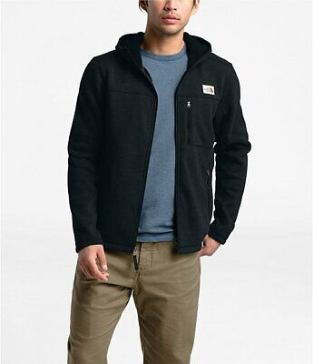 The North Face Mens Gordon Lyons Full Zip Fleece Hoodie Jacket XXXL 3XL $139 BLK