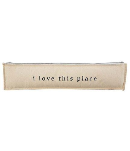 Welcome Collection I Love This Place Gusseted Pillow