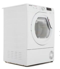 NEW GRADED !!! HOOVER DNHD813A2 8KG HEAT PUMP DRYER - WHITE WITH 12 MONTHS WARRANTY RRP £369