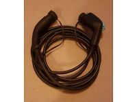 Nissan Leaf type 2 charging cable