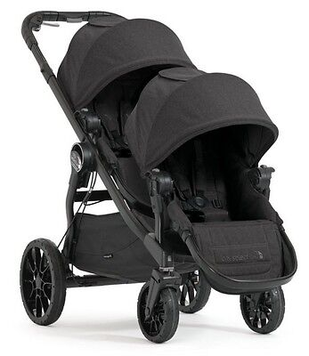 Baby Jogger 2017 City Select LUX Double Stroller in Granite