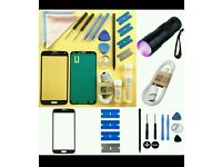Samsung galaxy s5 replacement screen glass kit