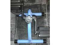Mobility pedal exerciser for knee problems