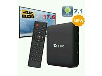 LATEST ANDROID BOXS. MXQ TX3 X96. BEST OFFER WARRANTY SMART HD TV