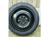 Toyota Yaris spare wheel (steel wheel ) with tyre excellent condition like the new.