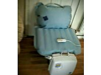 Bathseat helps you to get to get into the bath