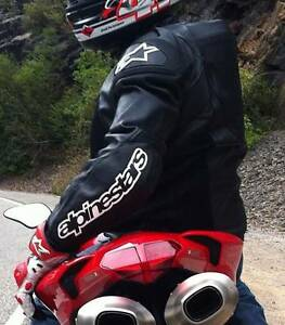 Alpinestars SMX Air-Flo Leather Motorcycle jacket RRP$1000 Sydney City Inner Sydney Preview
