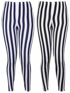 LADIES-VERTICAL-STRIPE-PRINT-ELASTICATED-WAIST-WOMENS-PATTERNED-LONG-LEGGINGS