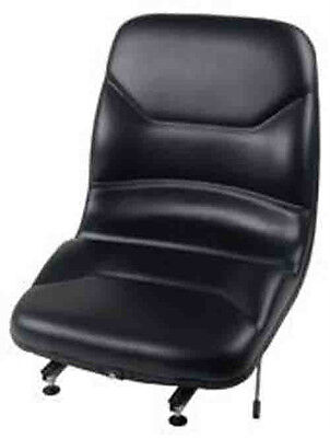 Wise Replacement Vinyl Forklift Seat Yale Cat Mitsubishi Clark17.25x18x21