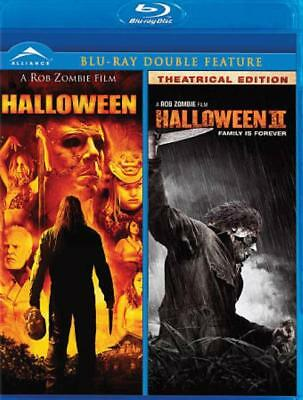 ROB ZOMBIE'S HALLOWEEN/ HALLOWEEN 2 NEW BLU-RAY](Rob Zombie's Halloween Movies)