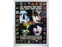 PROTOTYPE *Genuine 22 K GOLD CARD-NEW IN HOLDER KISS PSYCO-CIRCUS ALBUM GOLD