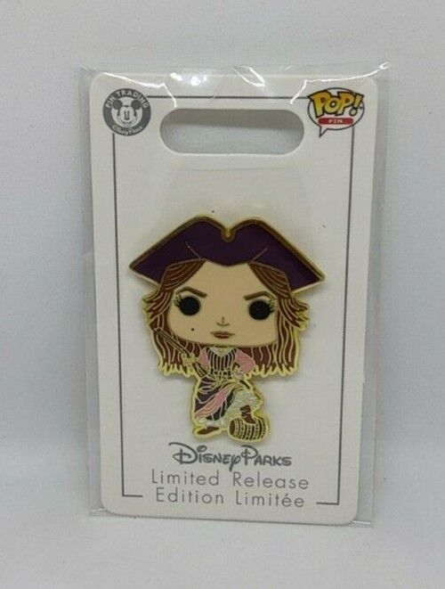 Redd Redhead The Pirates of the Caribbean Funko Pop Limited Release Disney Pin