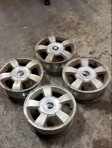Set of 4 x 100, 14 inch alloy rims