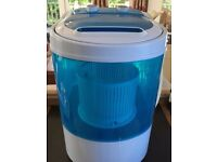 Portable washing Machine Leisure Direct GLW-82706, used 4 times only.