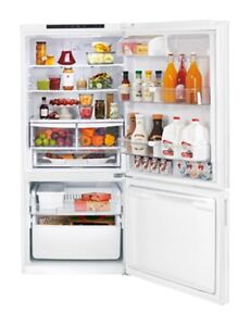 LG refrigerator, 2½ years old, EXCELLENT conditon! LBN22370SW