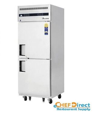 Everest Refrigeration Esrfh2 One-section Reach-in Refrigeratorfreezer Combo