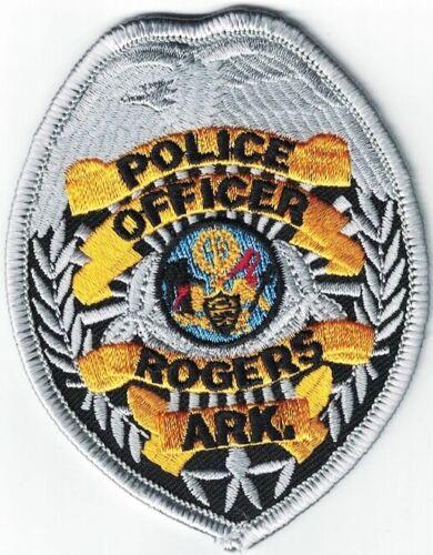 Rogers Police Arkansas OFFICER Arkansas AR Patch