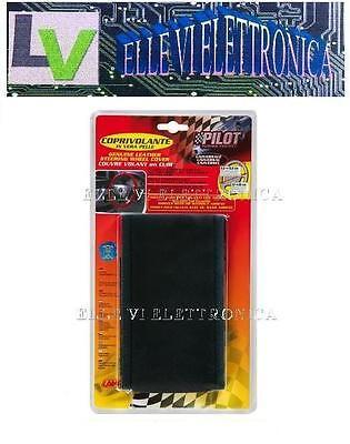 33011 CopriVolante In Kit Vera Pelle Naturale Rivestimento Volante Colore Nero
