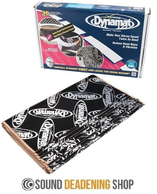 Dynamat Xtreme Extreme Bulk Pack Car Black Sound Deadening Proofing DYN10455