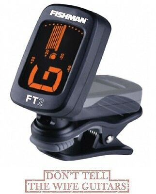 FISHMAN FT-2 Digital Chromatic Clip On Acoustic Guitar Tuner ACC-TUN-FT2