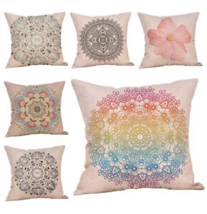 BRAND NEW 6 Decorative Pillow Case Cover Set