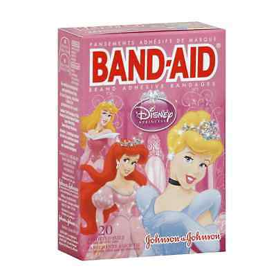 (BAND-AID Disney Princesses Assorted Adhesive Bandages 20 Each)