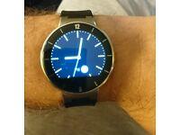Alcatel One Touch Smart Watch In Black