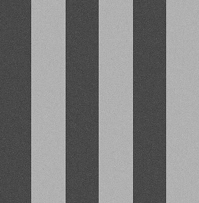 Tapete, Designtapete, Packpapier, Blockstreifen, Schimmer, Asche, Silber