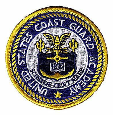 "Coast Guard Academy New London Connecticut 3"" W5478 USCG Coast Guard patch"