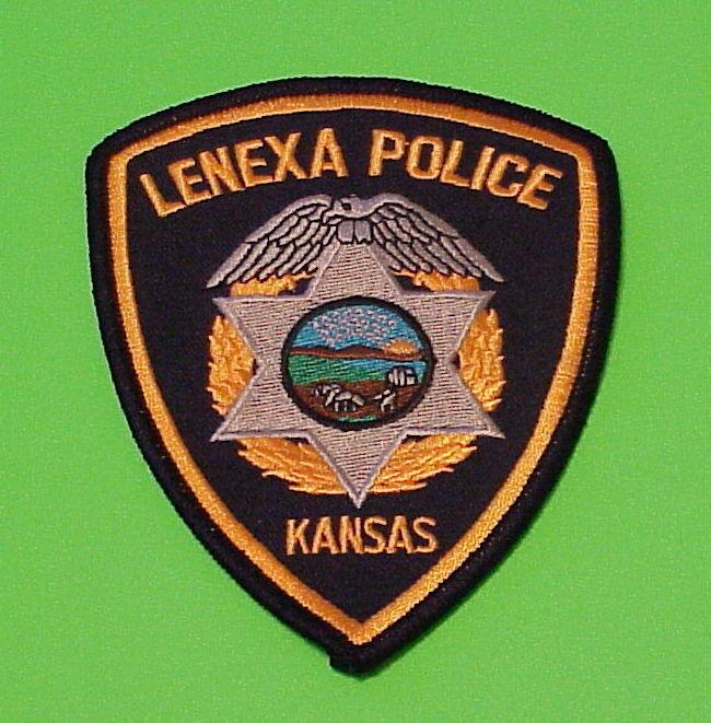 LENEXA  KANSAS  KS  POLICE DEPT. PATCH  FREE SHIPPING!!!