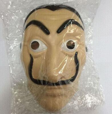 Maschera Casa di Carta Salvador Dali Carnevale Halloween Papel con elastico