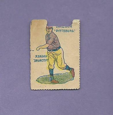 Used, ONLY KNOWN EXAMPLE HONUS WAGNER HOF 1909 GERMAN BASEBALL STAMPS T206 SUBJECT *PR for sale  Boston