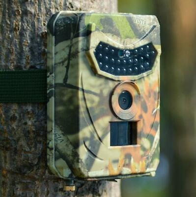 1080P Waterproof Night Vision Wildlife Camera 12MP 32GB Outdoor Trail Cam