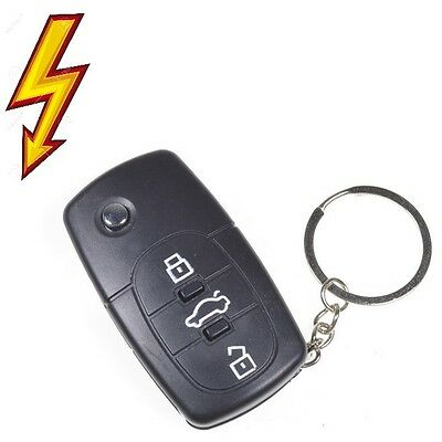 Shocking Electric Shock Cark Key Novelty Gift Fun Prank  Practical Joke Favour