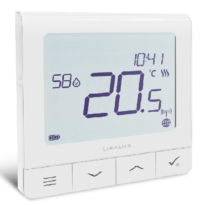 SALUS Quantum Thermostat SQ610RF Raumregler Smart Home Funk Heizung Smartphone