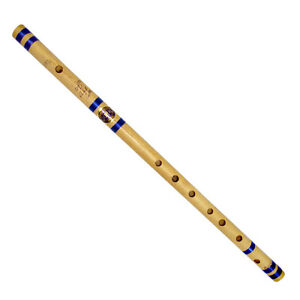 Indian Student Flute Traditional Wooden Flutes Handmade Bamboo-Bansuri-D Tone