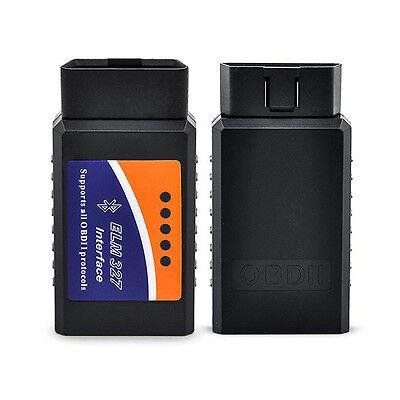 ELM327 Bluetooth OBD2 Car Diagnostic Scanner Code Reader Android Torque V2.1