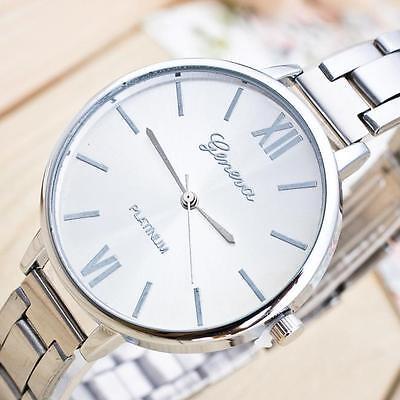 US Luxury Women's Ladies Stainless Steel Analog Alloy Quartz Wrist Watch Watches