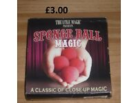 Sponge Ball Magic Great Fun Close Up Magic Tricks Ideal for a Party or New Years Eve