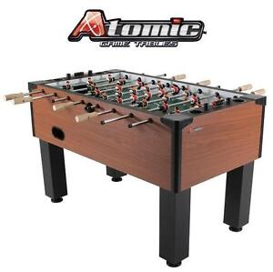NEW ATOMIC GLADIATOR FOOSBALL TABLE - 117135136 - GLADIATOR DLX FOOSBALL TABLE