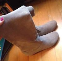 Brand New - Authentic Leather Spring Boots / size 38