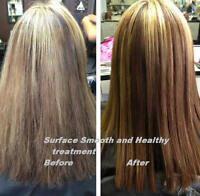 Hair Straightening Permanent for all Hair Types..Men and Women