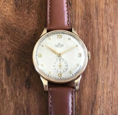 Smiths Deluxe A526 9ct Gold Watch Serviced